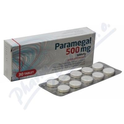 Paramegal 500 mg tbl nob 30
