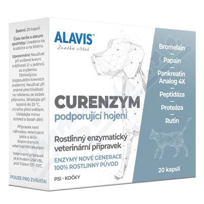 ALAVIS Curenzym Enzymoterapie a.u.v.cps.20