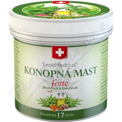 Konopná mast Herbamedicus 125 ml