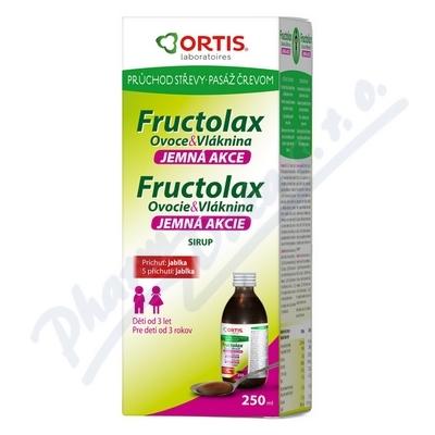 Fructolax Ovoce&Vláknina SIRUP 250ml