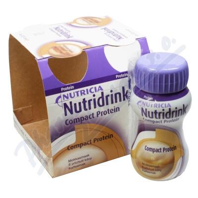 Nutridrink Compact Protein př.kávy por.sol.4x125ml