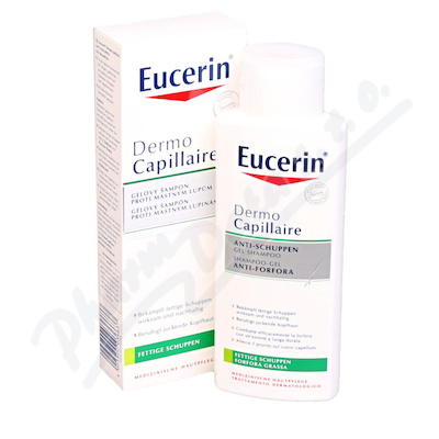 EUCERIN DermoCapil.šampon proti mast.lupům 250ml