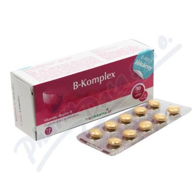 B-komplex 30+10 tablet Moje lékárna
