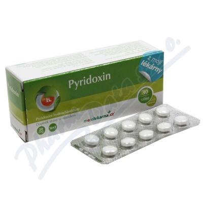 Pyridoxin 20mg tbl.30+10 Moje lékárna
