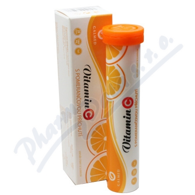 Vitamin C 1000mg Galmed pomeranč 20 šumivých tablet
