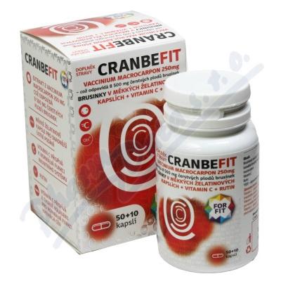 Cranbe fit Galmed 50+10 kapslí