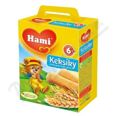 Hami Keksíky dětské sušenky 180g 6M
