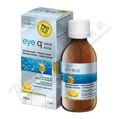 eye q tekutá forma s příchutí citrónu 200ml