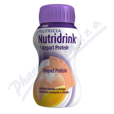 Nutridrink Compact Protein př. brosk.mango 4x125ml
