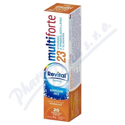 Revital Multi forte pomeranč tbl.eff.20