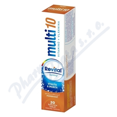 Revital Multi pomeranč tbl.eff.20