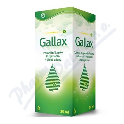 Gallax 7,5 mg/ml por gtt sol 30 ml