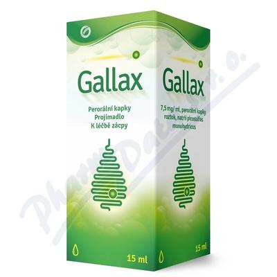 Gallax 7,5 mg/ml por gtt sol 15 ml