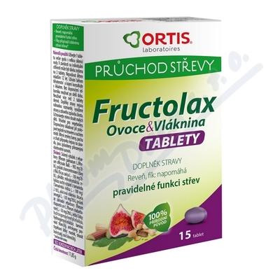 Fructolax Ovoce&Vláknina TABLETY tbl.15