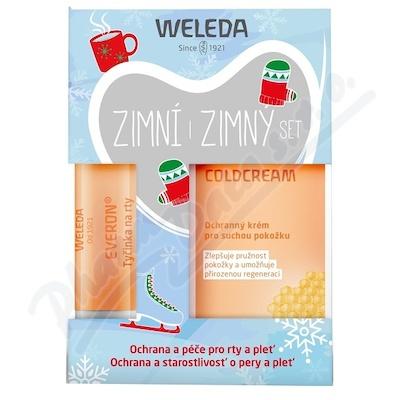 WELEDA SET Zimní (Coldcream + Everon)