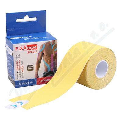 FIXAtape Sport Standard tejp. páska 5cmx5m žlutá