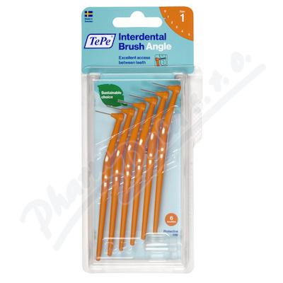 TePe mezizub.kart. Angle oranž. 0.45mm 6ks 154620