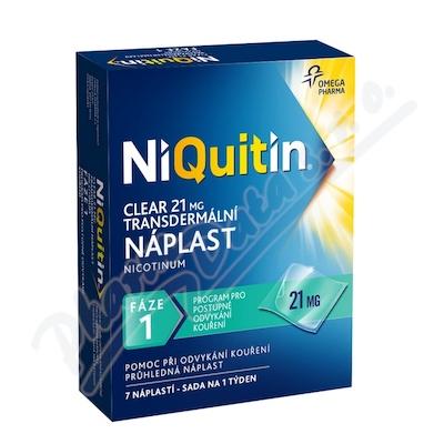 Niquitin Clear 21mg/24h tdr.emp.7