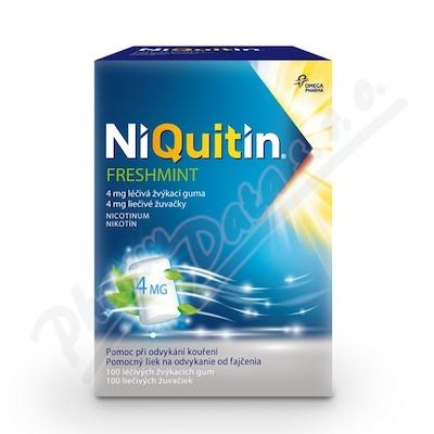 Niquitin Freshmint 4mg gum.mnd.100 I