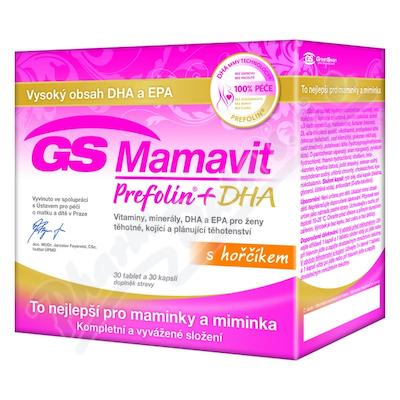GS Mamavit Prefolin+DHA+EPA tbl/cps.30+30 2016