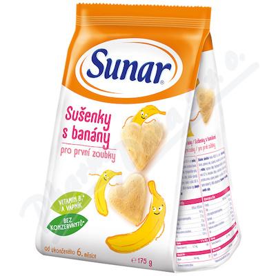 Sunar sušenky s banány 175g