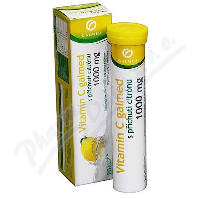 Vitamin C 1000mg Galmed citron eff.tbl.20