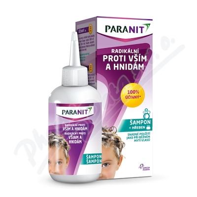 Paranit Radikální šampon+hřeben
