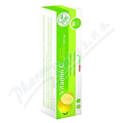 Vitamin C 1000mg citron eff.tbl.20 Moje lékárna