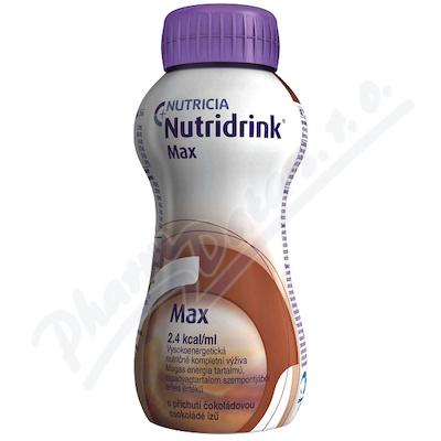 Nutridrink Max s př. čokoládovou por.sol.4x300ml