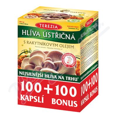 Terezia Hlíva ústřičná s rakytníkovým olejem 100+100 kapslí