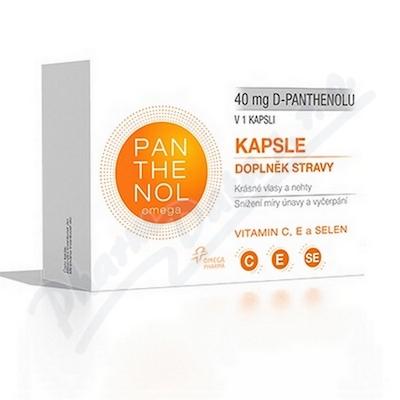 Panthenol Omega 40mg cps.60