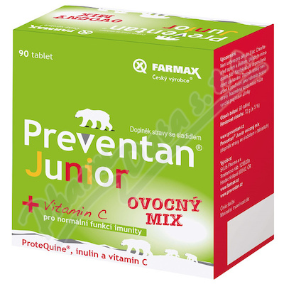 Preventan Junior ovocný mix tbl.90