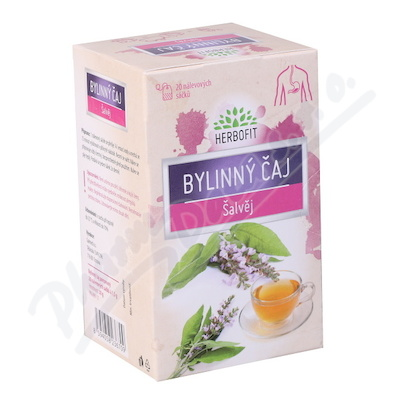 Herbofit Bylinný čaj Šalvěj Galmed 20x1.5g