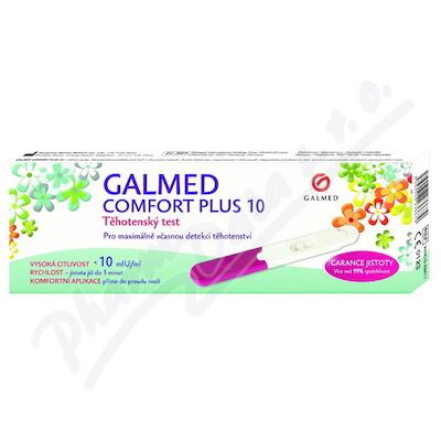 Test těhotenský Comfort Plus 10 tyčinka Galmed 1ks