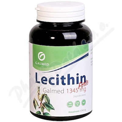 Lecithin Forte Galmed 1345 mg 100 tobolek