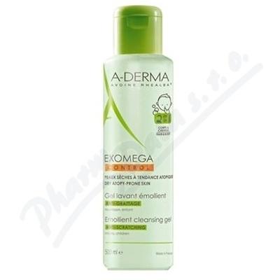 A-DERMA Exomega CONTROL Zvláčňující mycí gel 2v1 500ml