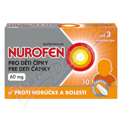 Nurofen pro děti čípky 60mg rct.supp.10