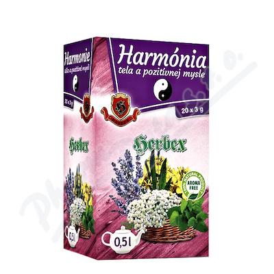 HERBEX Harmonie těla a pozitivní mysli n.s.20x3g