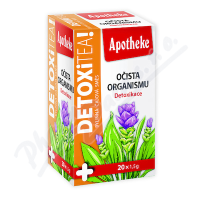 Apotheke Detoxi tea očista organismu čaj 20x1.5g