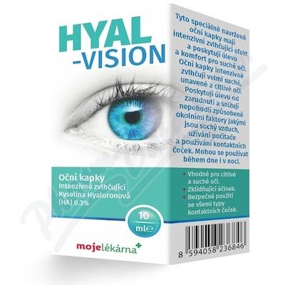 Hyal-Vision oční kapky 10ml Moje lékárna