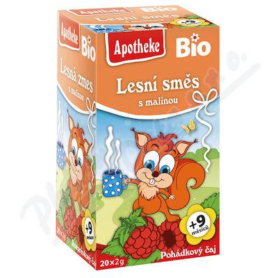 Dětský BIO Pohádkový čaj Les.směs s malinou 20x2g