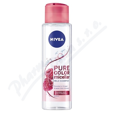 NIVEA micelární šampon Pure Color 400ml 89096