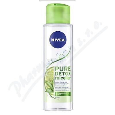 NIVEA detoxikační micelární šampon 400ml 89103