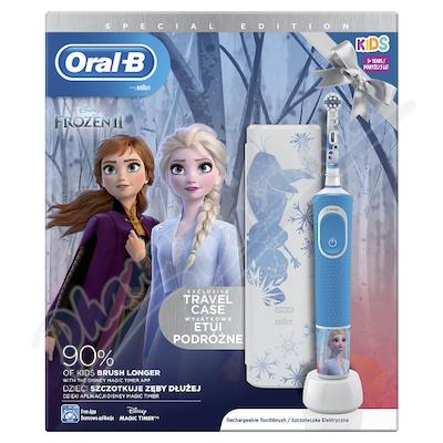Oral-B El.kart.Vitality D100 dět.Frozen + pouzdro