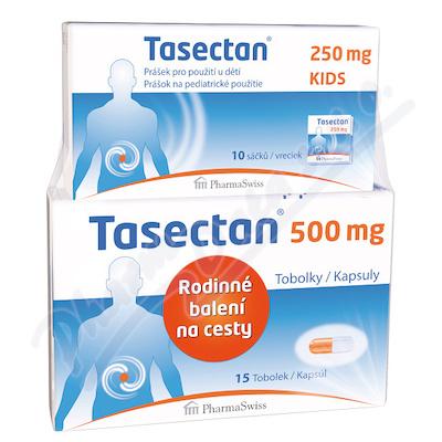 Tasectan 500mg tob.15+KIDS 250mg 10 sáčků