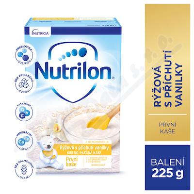 Nutrilon První kaše rýžová s příchutí vanilky 225g