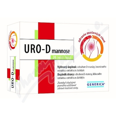 URO-D mannose tbl.20 Generica