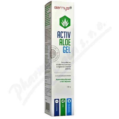 Barnys Activ Aloe Gel 100g