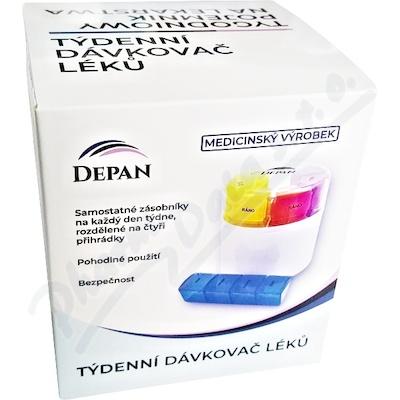 DEPAN CUBE Dávkovač léků týdenní