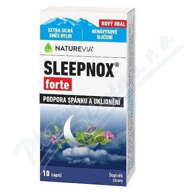 NatureVia Sleepnox forte cps.10